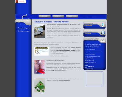 Plomberie La Rochelle - CHARTIER BERNARD :...