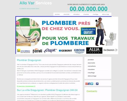 Plombier Draguignan, 83 - Bienvenue métier...