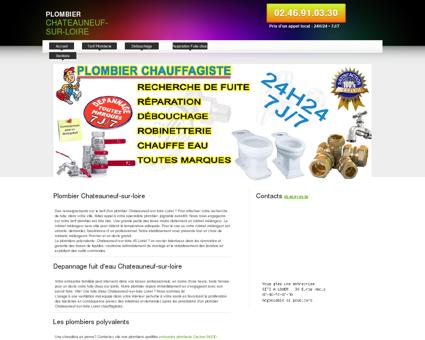 Plombier Chateauneuf-sur-loire   Erwan...