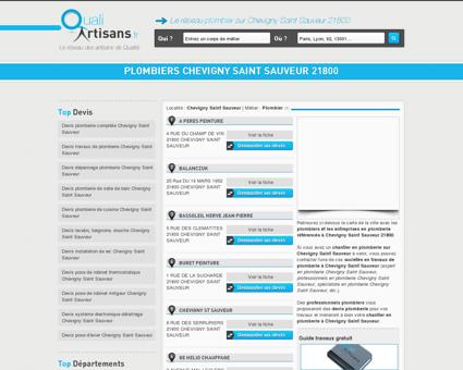 plombiers Chevigny Saint Sauveur 21800 -...