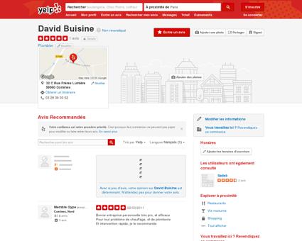 David Buisine - Plombier - Comines, Nord -...