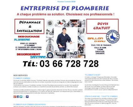Plombier Comines TEL:03 66 728 728