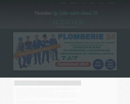 Plombier La Celle-saint-cloud | Bernard Un bac...