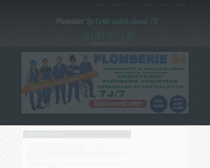 Plombier La Celle-saint-cloud   Bernard Un bac...