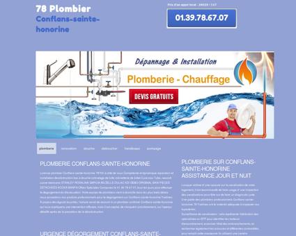 Plombier 78700 Conflans-sainte-honorine -...