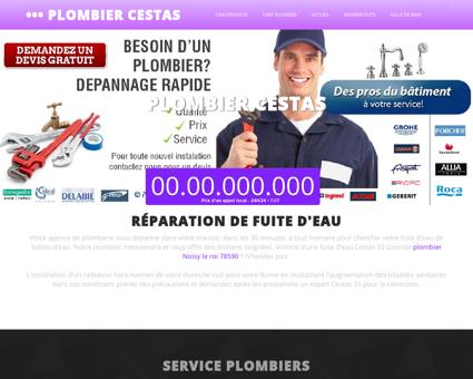 Plombier 33610 Cestas - Kylian entreprise...