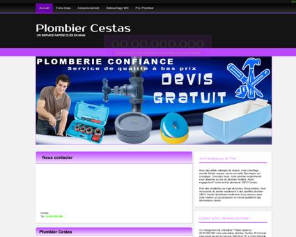 Plombier 33610 Cestas - Xavier plombier...