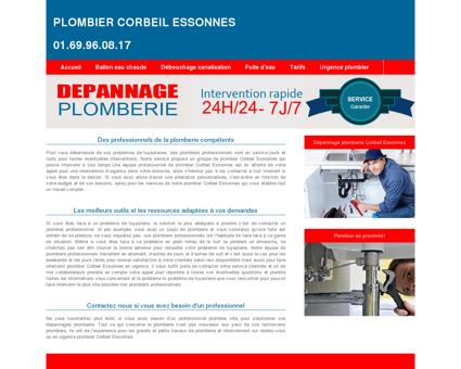 Plombier Corbeil Essonnes : 01.69.96.08.17...