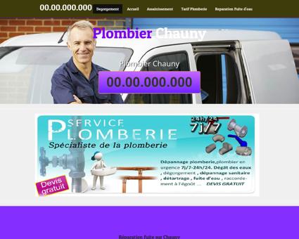 Plombier Chauny, 02 - Bienvenue service de...