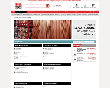 Plomberie / Magasin de Bricolage Brico Dépôt...