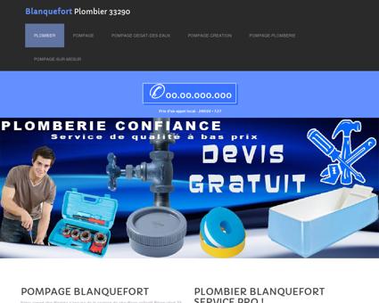 Plombier Blanquefort, 33 - Prix Baignoires...