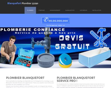 Plombier Blanquefort, 33 | Alain recherche...