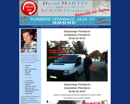 Dépannage Plomberie - 7/7, 24/24, Plombier...