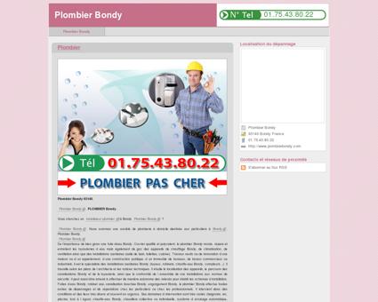 01.75.43.80.22 | Plombier Bondy | Plombier...
