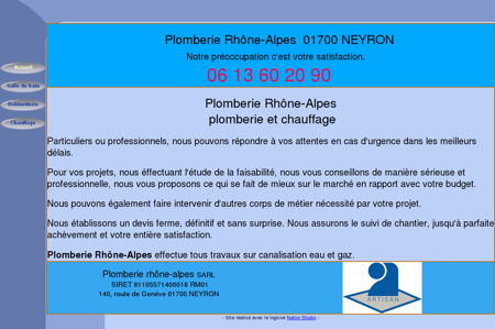 Plomberie Rhône-Alpes
