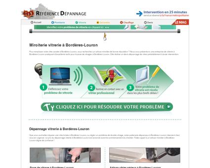 Vitrier à Bordères-Louron 65590 : dépannage...
