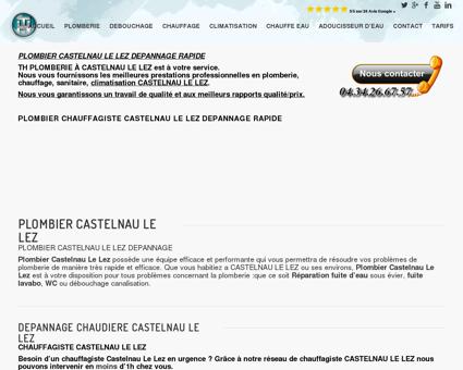 DEPANNAGE PLOMBERIE CASTELNAU LE LEZ...