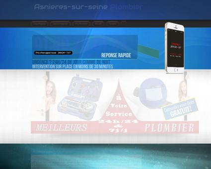 Plombier Asnieres-sur-seine - Dorian recherche...