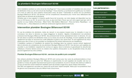 La plomberie Boulogne billancourt 92100 -...