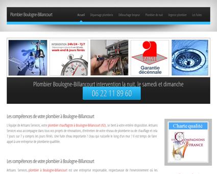 Plombier Boulogne-Billancourt 92100 |...