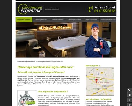 Plombier Boulogne-Billancourt | Dépannage...