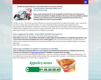 Plombier Boulogne Billancourt | A votre service...