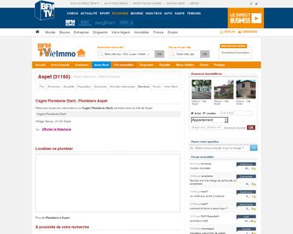 Cagire Plomberie (Sarl) - Plombiers Aspet |...