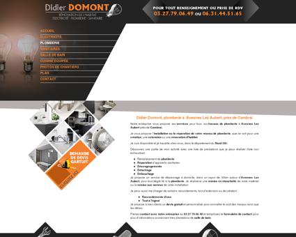 Didier Domont, plomberie à Avesnes Lez...