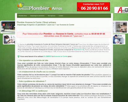 Plombier Avesnes le Comte | Dépannage au...