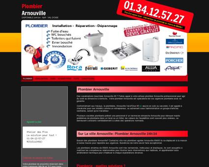 Plombier 95400 Arnouville - Noah tarif...