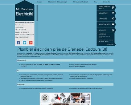 Plombiers Grenade - MG Plomberie Electricité ...