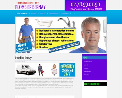 Plombier 27300 Bernay - Antoine curage
