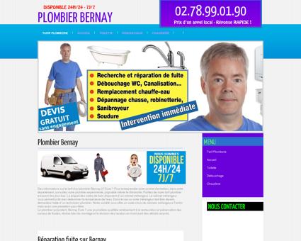 Plombier Bernay - Optez le des prix clairs