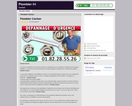Plombier Cachan - 01.82.28.55.26 | Plombier 94