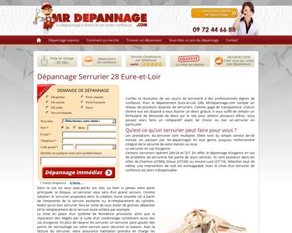 Serrurier Eure-et-Loir (28) - Dépannage...