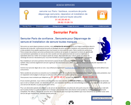 Serrurier Paris: Disponible au...