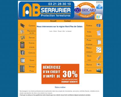 Dépannage serrurier Lens Site Officiel AB...