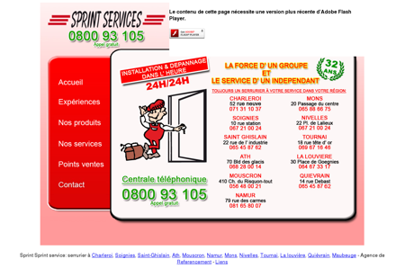 Sprint services - depannage serrurier urgent -...