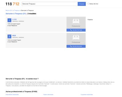 Serrurier à Tinqueux (51430)