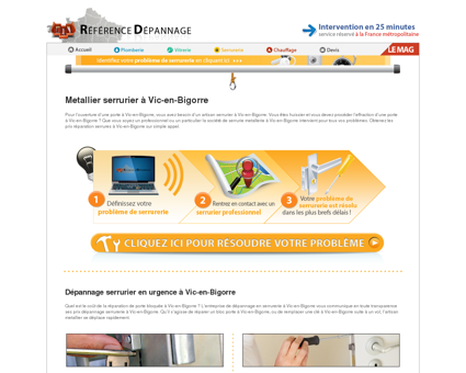 Serrurier à Vic-en-Bigorre : réparation de...