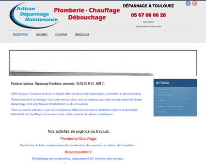 Plombier toulouse - Dépannage Plomberie,...