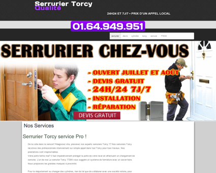Serrurier Torcy - Jerome fiable et à un tarif...