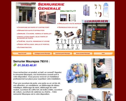 Serrurier Maurepas : 01.39.83.48.91 Serrurerie...