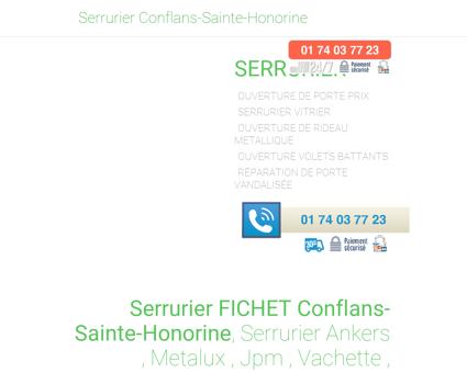Serrurier Conflans-Sainte-Honorine - [ 01 74...