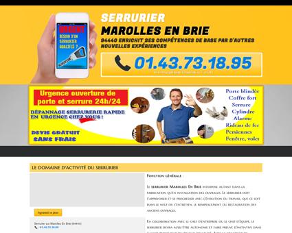 Serrurier Marolles En Brie : 01.43.73.18.95...