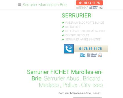 Serrurier Marolles-en-Brie - [ 01 78 14 11 75 ]...