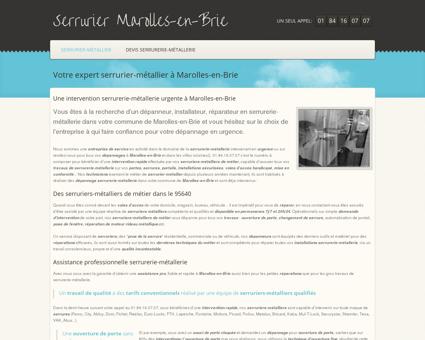 Serrurier Marolles-en-Brie - 01 84 16 07 07 -...