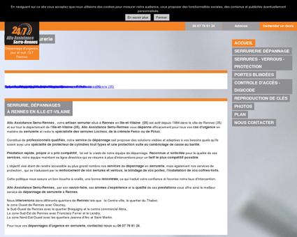 Allo Assistance Serru-Rennes à Rennes en Ille...