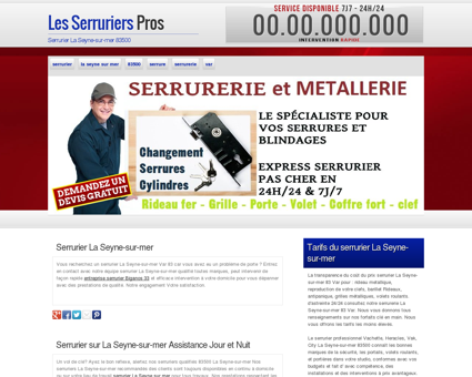 Serrurier La Seyne-sur-mer, 83 | Samuel volets...