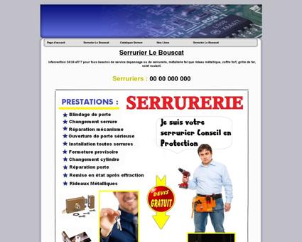 Serrurier Le Bouscat Tel: 05.35.546.547...